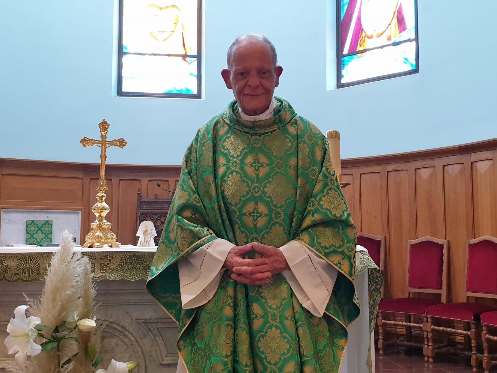 Père André Castro paroisse saint laurent