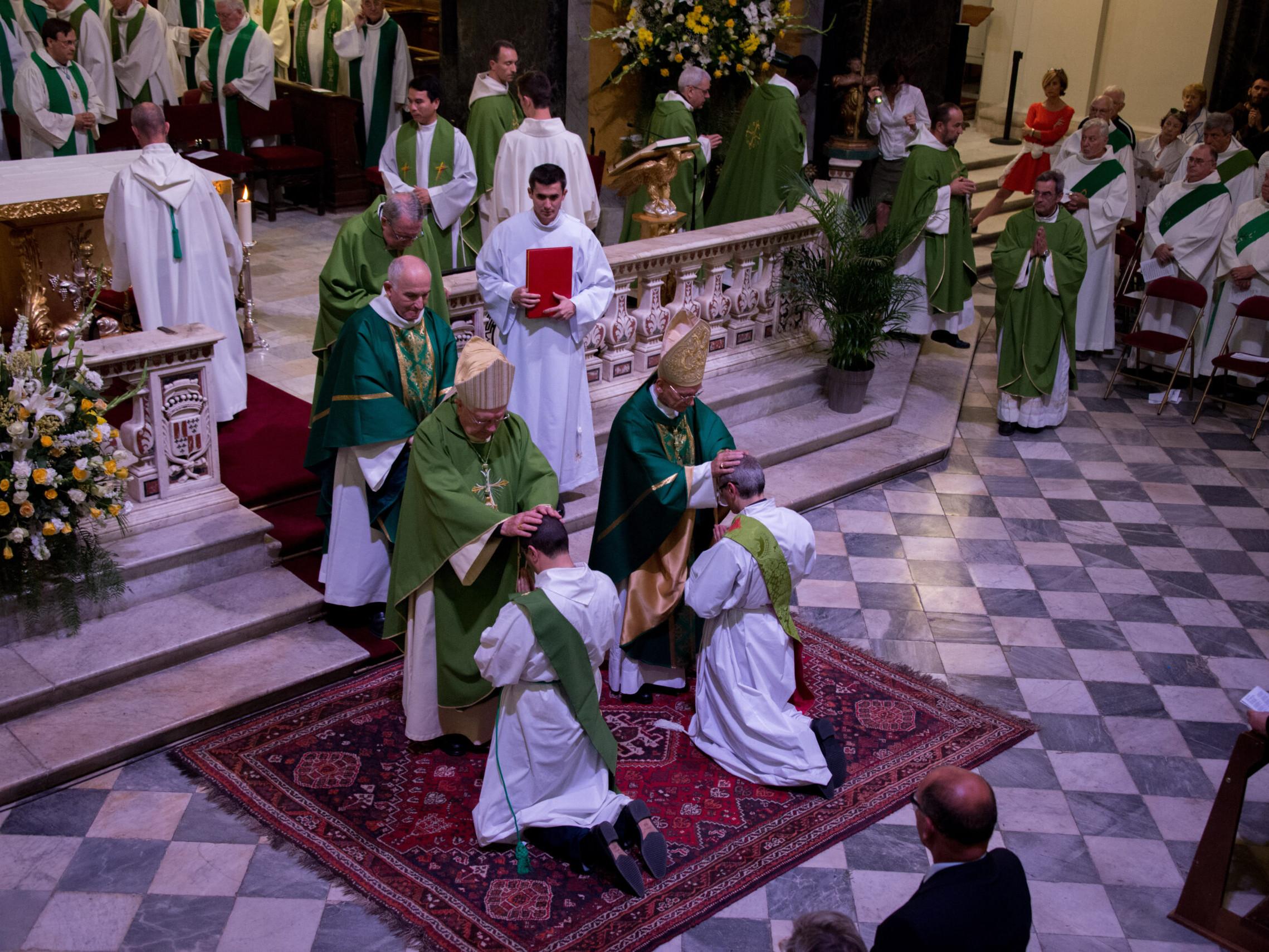 Sacrement de l'ordre paroisse saint laurent