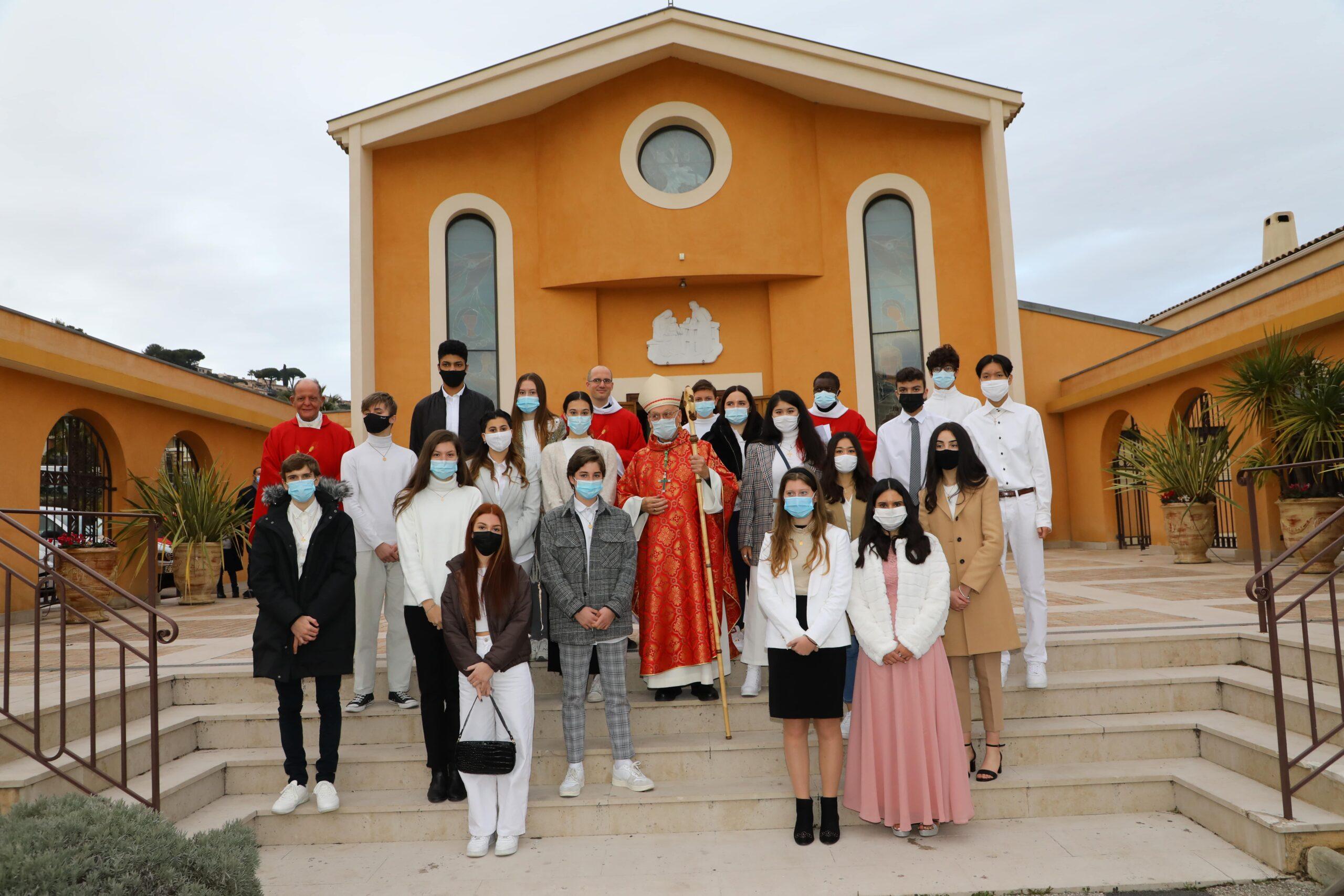 Confirmation paroisse saint laurent